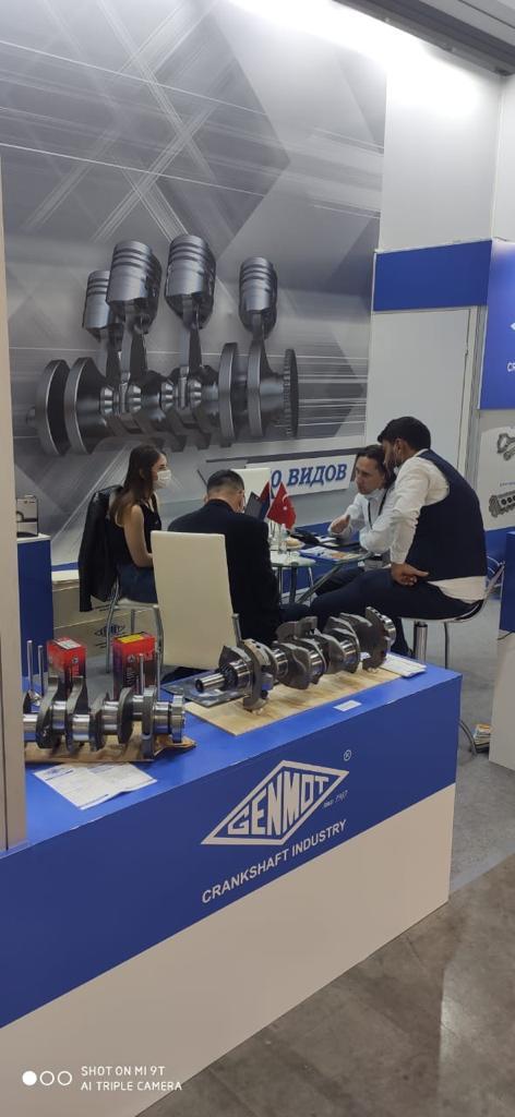 Компания ГЕНМОТ Трейд совместно с заводом GENMOT работала на выставке АГРОСАЛОН 2020.